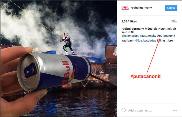 red bull instagram marketing